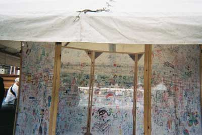 Sally booth news artist living and working in london liberty festival drawing tent sciox Images