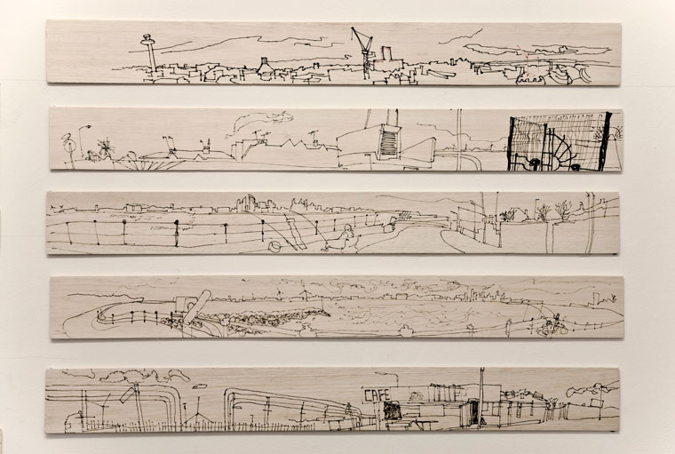 Sally booth gallery liverpool panoramas liverpool panoramas permanent pen on balsa wood sciox Image collections