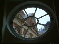 Bluecoat studio window